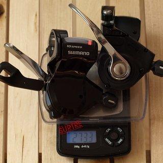 Gewicht Shimano Schalthebel SL-R780 2x10-fach