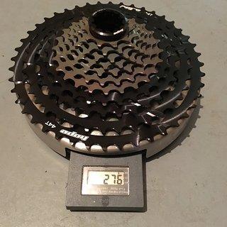 Gewicht Hope Kassette 11fach 10-44