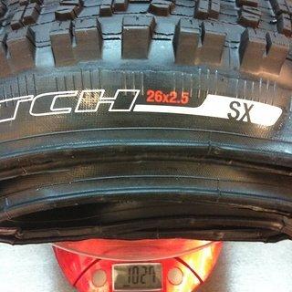 """Gewicht Specialized Reifen Clutch SX 26x2.5"""""""