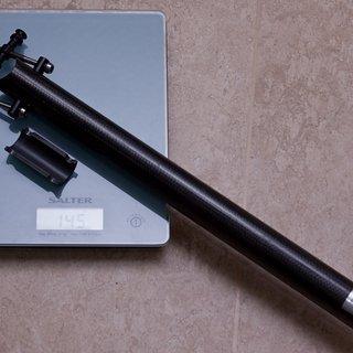 Gewicht Ax-Lightness Sattelstütze Europa 31.6 x 400mm