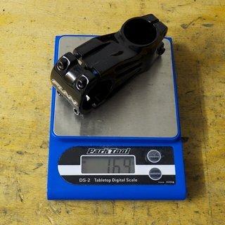 Gewicht FUNN Vorbau Crossfire 31.8mm, 65mm, 6°