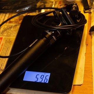 Gewicht Rock Shox Sattelstütze höhenverstellbar Reverb MMX 31,6 x 420mm