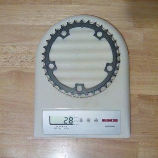 Gewicht SRAM Kettenblatt Rival Road Compact 110mm, 34Z