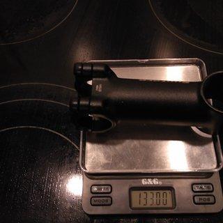 Gewicht Syntace Vorbau Force 139 26,0mm, 90mm, 6°