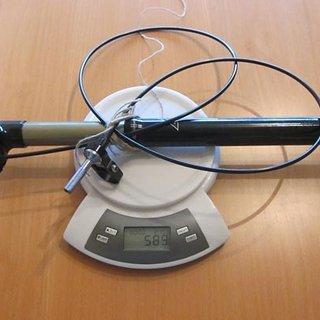 Gewicht Crank Brothers Sattelstütze höhenverstellbar Joplin 4R 30.9 x 398mm