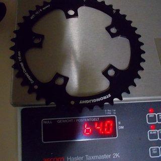 Gewicht Stronglight Kettenblatt S266054 110mm, 42Z
