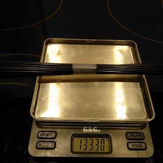 Gewicht Sapim Speiche Laser 251mm, 32 Stück