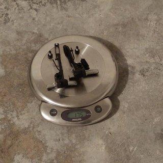 Gewicht Shimano Felgenbremse XT BR-M770
