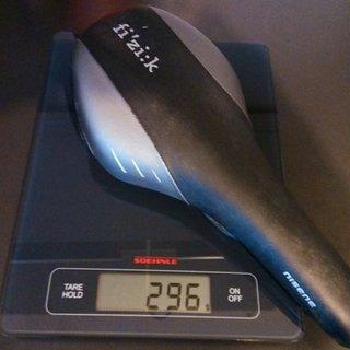 Gewicht fi'zi:k (Fizik) Sattel Nisene XS