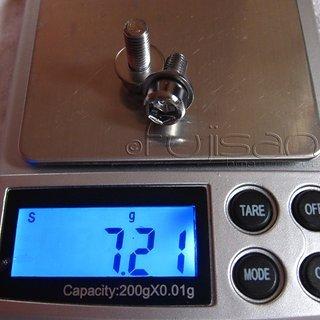 Gewicht No-Name Schrauben, Muttern zylindrische Inbusschraube M5x12, Stahl