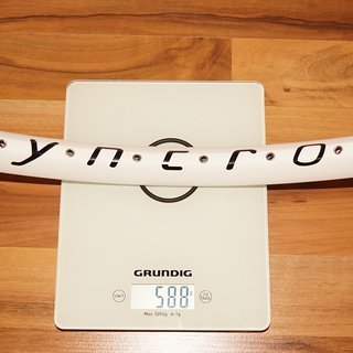"Gewicht Syncros Felge FR DS32 26"""