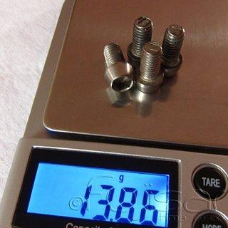 Gewicht Avid Schrauben, Muttern konische Inbusschraube M6x12, Stahl