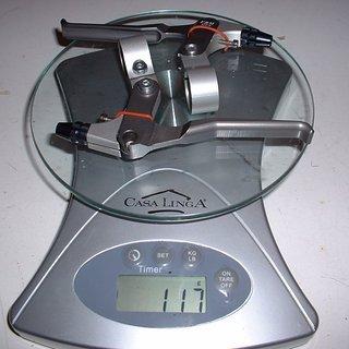 Gewicht FRM Felgenbremse DP4