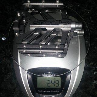Gewicht CONTEC Pedale (Platform) Spatula II MG 101x106x10mm
