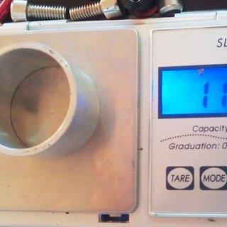 Gewicht No-Name Spacer Al-Spacer 1⅛'', 22mm