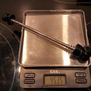 Gewicht Novatec Schnellspanner QR202F 100mm