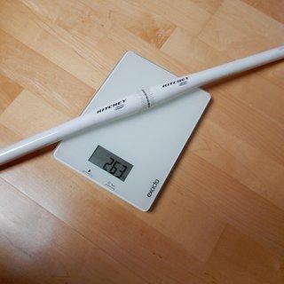 Gewicht Ritchey Lenker Comp Flatbar 31,9 mm
