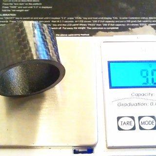 Gewicht Superstar Components Spacer Carbon 1⅛'', 20mm