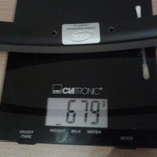 Gewicht Ryde Felge Andra 30 CSS 19x559