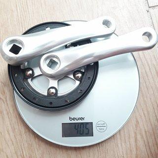 Gewicht Kubikes Kurbelgarnitur Kubikes 20 Kurbelgarnitur 127 mm, 28 Zähne