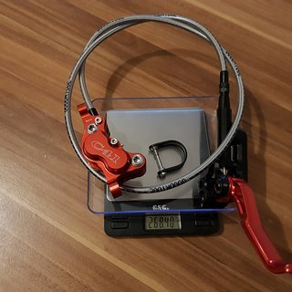 Gewicht Trickstuff Scheibenbremse direttissima VR 800 mm Goodridge Stahlflex