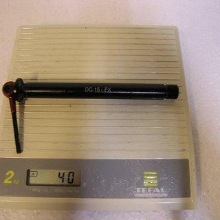 Gewicht Tune Achse DC 15 Fox 100 x 15mm