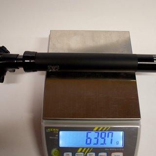 Gewicht X-Fusion Sattelstütze höhenverstellbar Hilo 100 30,9 x 410mm