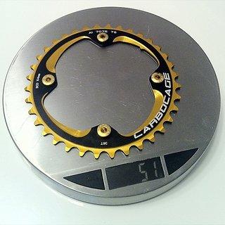 Gewicht Carbocage Kettenblatt Kettenblatt 104mm, 36Z