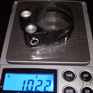 Gewicht No-Name Sattelklemme Sattelklemme 31.8mm