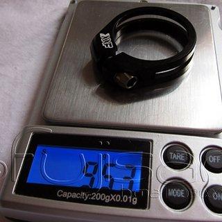 Gewicht XXF Sattelklemme Sattelklemme 31,8mm