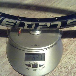 """Gewicht Dartmoor Felge SHIELD 27,5"""" 584x25,6 mm"""