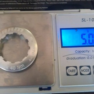 Gewicht SRAM Kassettenabschlussring PG-1070 11Z