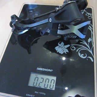 Gewicht Shimano Schaltwerk XTR RD-M971 SGS Long Cage