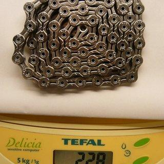 Gewicht KMC Chain Kette X 11 SL Gold 110 Glieder, 11-fach