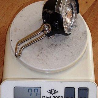 Gewicht Busch und Müller Beleuchtung Lyt N Plus 25 Lux