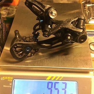 Gewicht Shimano Schaltwerk RD-M 980 GS