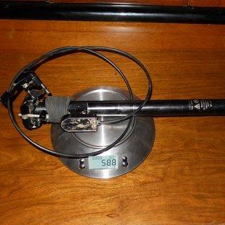 Gewicht Gravity Dropper Sattelstütze höhenverstellbar Classic Multiposition 27.2 x 400mm