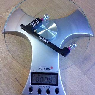 Gewicht Magura Scheibenbremsadapter Adapter QM-26 PM >>> PM +43