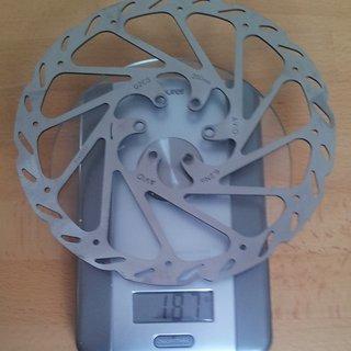 Gewicht Avid Bremsscheibe G2 CleanSweep 200mm