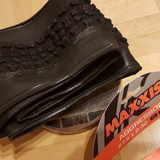 "Gewicht Maxxis Reifen Aggressor Exo TR 27.5x2.30"", 58-584"