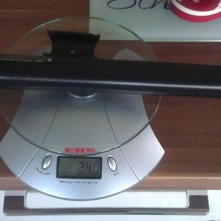 Gewicht Fun Works Sattelstütze N-Light Alloy SL 31,6 x 400mm