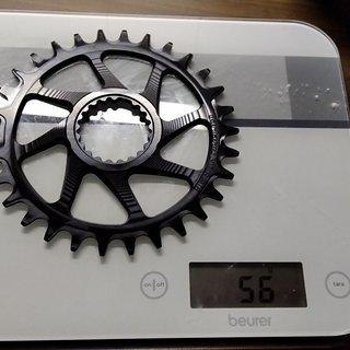 Gewicht Garbaruk Kettenblatt Shimano Direct Mount SLX/XT 30t