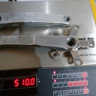 Gewicht White Industries Kurbel custom made by Sugino  175mm 94/58