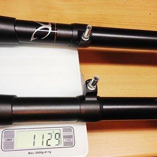 "Gewicht eXotic Starrgabel Rigid  CC-F0C25 26"", 1"", 240mm"