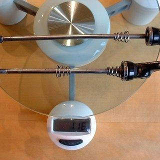 Gewicht DT Swiss Schnellspanner Schnellspanner 100mm, 135mm