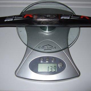 Gewicht FSA Lenker SL-K Carbon OS Flatbar 620mm 6°