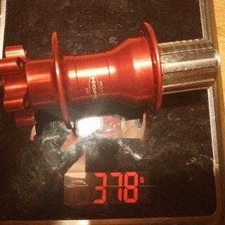 Gewicht Hope Nabe Bulb HR 150x12