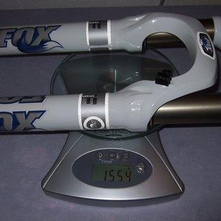 """Gewicht Fox Racing Shox Federgabel F32 80 RLC 26"""", 80mm, 1-1/8"""""""