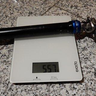 Gewicht Kind Shock Sattelstütze höhenverstellbar Supernatural 31.6 x 435mm