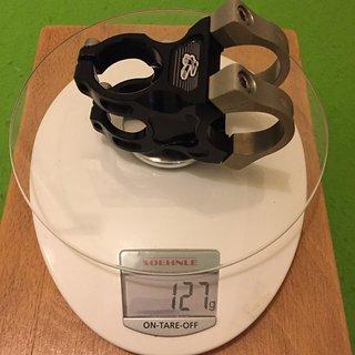 Gewicht Renthal Vorbau Apex Stem 31,8mm, 50mm, ±6°